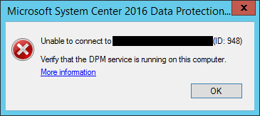 System Center Data Protection Manager 2016 Delegated Administrator