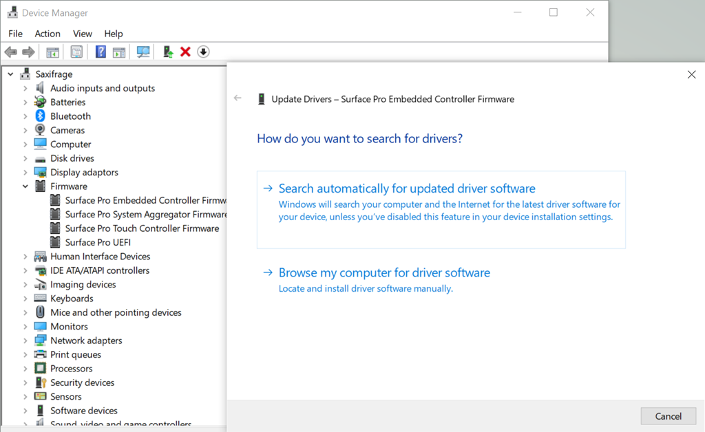 Surface Pro 3 Type Cover Not Working After Windows 10 1903 Image