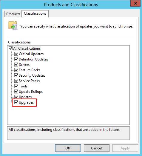 Steps Required to Configure WSUS to Distribute Windows 10 Version