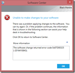 Unable to make changes to your software