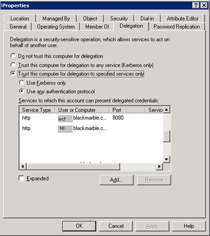 More] Fun with WCF, SharePoint and Kerberos – But it works