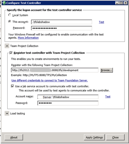 Getting TFS 2012 Agents to communicate cross domain – But it works