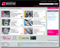 The University of Bradford Website
