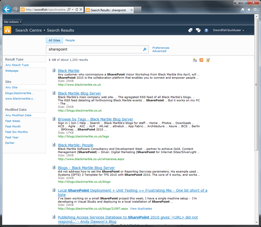 Making SharePoint 2010 search pages work with a proper master page ...