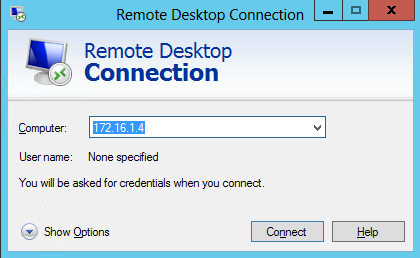 rdp connection 1